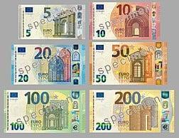 La monnaie de l'Espagne est l'Euro (EUR)