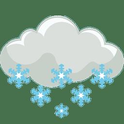 erős havazás