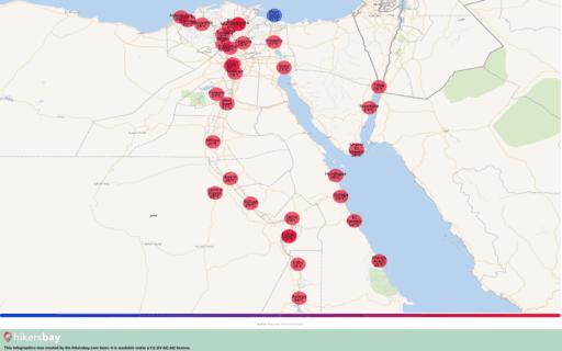 Vädret i Egypten i Mars 2020. Reseguide och råd. Läs en översikt över klimatet. hikersbay.com