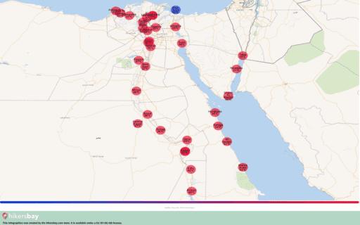 Været i Egypt i Mai 2020. Reiseguide og råd. Les en oversikt over klimaet. hikersbay.com
