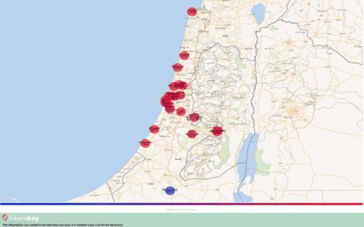 Tempo em Israel em Janeiro de 2020. Guia de viagens e conselhos. Ler uma descrição geral do clima. hikersbay.com