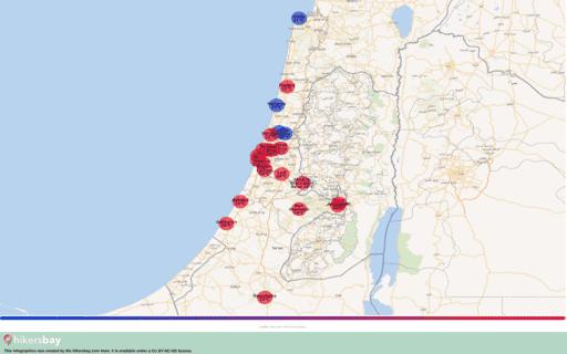 Das Wetter in Israel in März 2020. Reiseführer mit Infos zu Klima und Ratschläge. Lesen Sie einen Überblick über das Klima. hikersbay.com