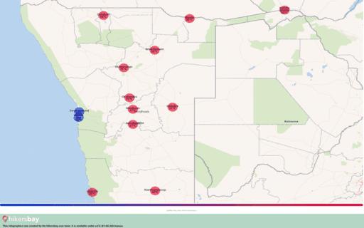 Das Wetter in Namibia in August 2020. Reiseführer mit Infos zu Klima und Ratschläge. Lesen Sie einen Überblick über das Klima. hikersbay.com