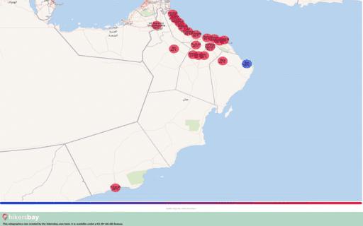 Været i Oman i Mai 2020. Reiseguide og råd. Les en oversikt over klimaet. hikersbay.com