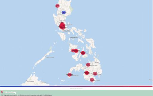 Febbraio 2020 - meteo in Filippine.Guida su clima, previsioni meteo per i turisti e viaggiatori. hikersbay.com