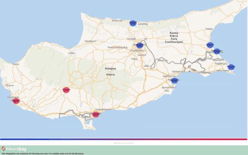 Vremea în Cipru în Decembrie 2020. Ghid de călătorie şi sfaturi. Citiţi o prezentare generală a climei. hikersbay.com