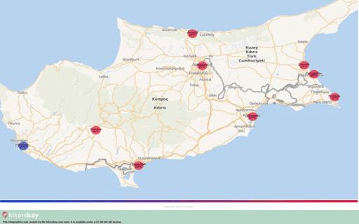 Vädret i Cypern i Maj 2020. Reseguide och råd. Läs en översikt över klimatet. hikersbay.com