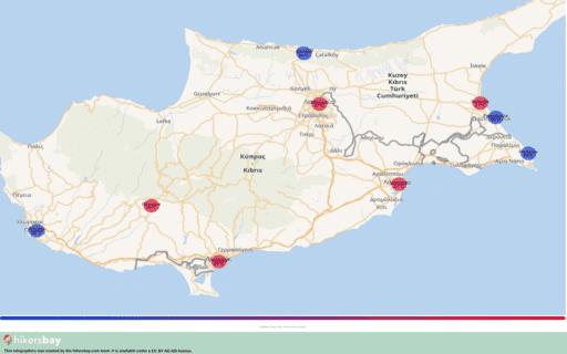 Времето в Република Кипър в Октомври 2020. Пътеводител и съвети. Прочетете преглед на климата. hikersbay.com