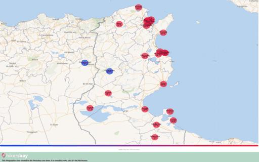 Vejret i Tunesien i Januar 2021. Rejseguide og råd. Læs en oversigt over klimaet. hikersbay.com