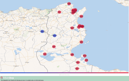 Времето в Тунис в Март 2020. Пътеводител и съвети. Прочетете преглед на климата. hikersbay.com