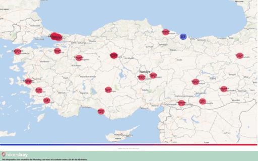 Thời tiết ở Thổ Nhĩ Kỳ trong tháng Tám 2020. Lời khuyên và hướng dẫn du lịch. Đọc tổng quan về khí hậu. hikersbay.com