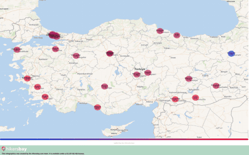 Ο καιρός στη Τουρκία στο Φεβρουαρίου 2020. Ταξιδιωτικός οδηγός και συμβουλές. Διαβάστε μια επισκόπηση του κλίματος. hikersbay.com