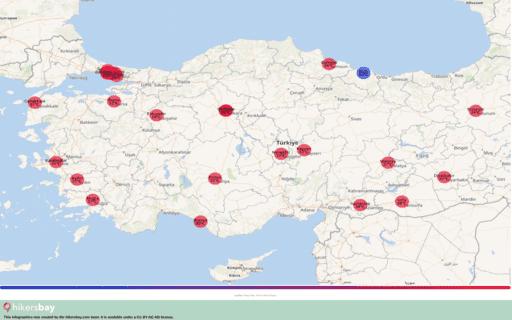 Météo en Turquie en juillet 2020. Guide de voyage et des conseils. Lire un aperçu du climat. hikersbay.com