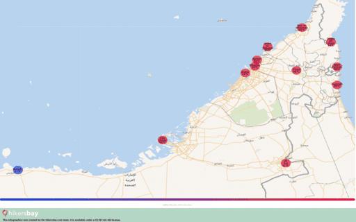 Das Wetter in Vereinigte Arabische Emirate in April 2020. Reiseführer mit Infos zu Klima und Ratschläge. Lesen Sie einen Überblick über das Klima. hikersbay.com