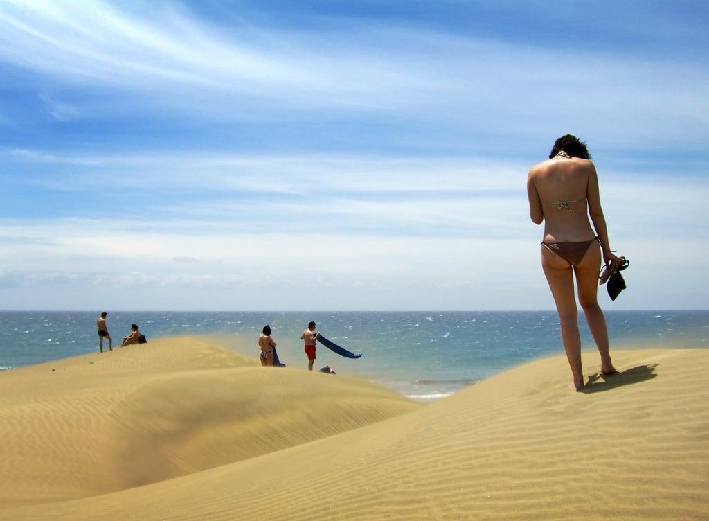 Maspalomas Nude Beach