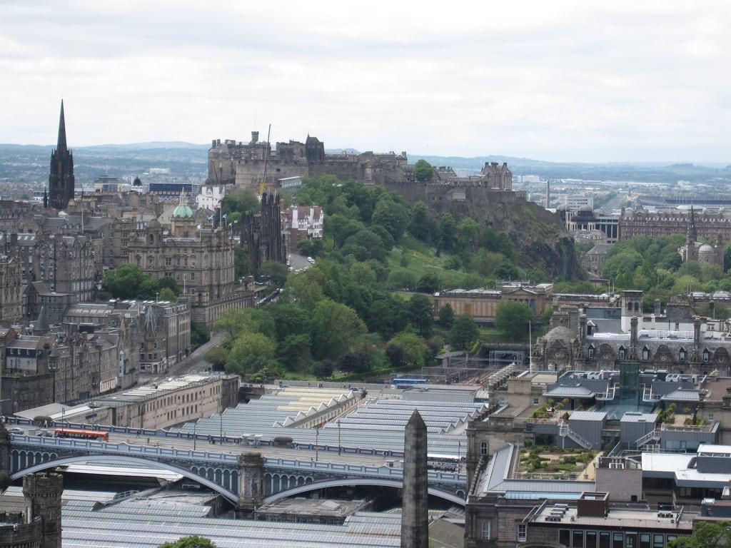 Обои dugald stewart monument, scotland, Шотландия, эдинбург, edinburgh, calton hill. Города foto 16