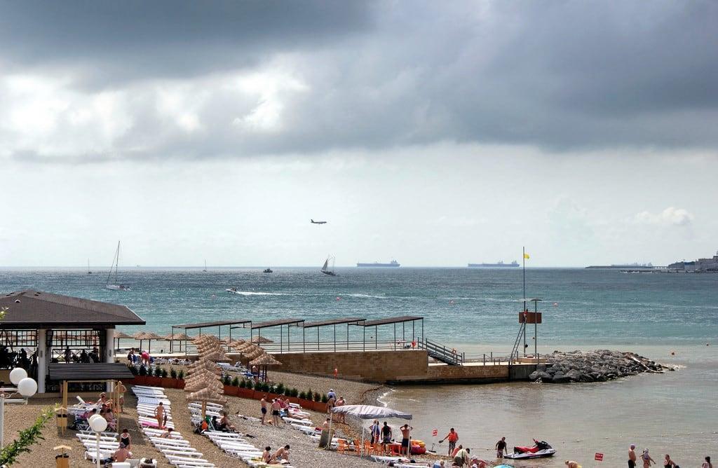 оттенок альфа геленджик пляж фото тип